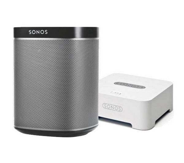 PLAY:1 Wireless HiFi and Free Sonos Bridge - Black This looks interesting - looking for something portable where I can play music either from cd, or downloaded or from the radio.