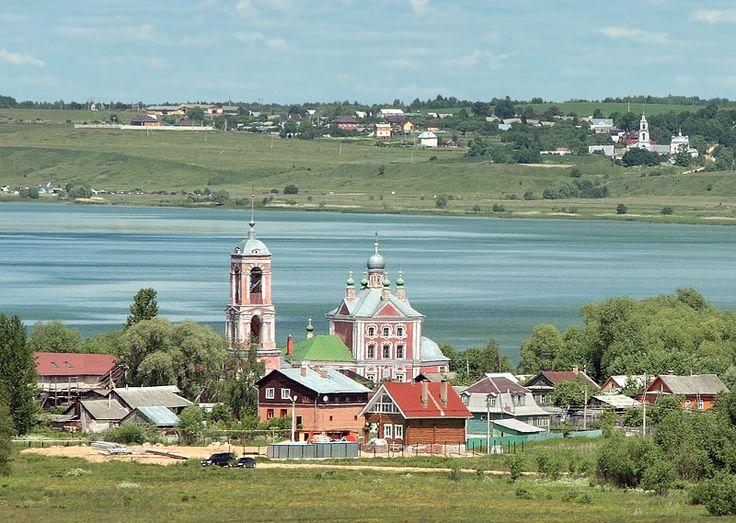 Сорокасвятская церковь на берегу Плещеева озера. Переславль-Залесский Ярославской области