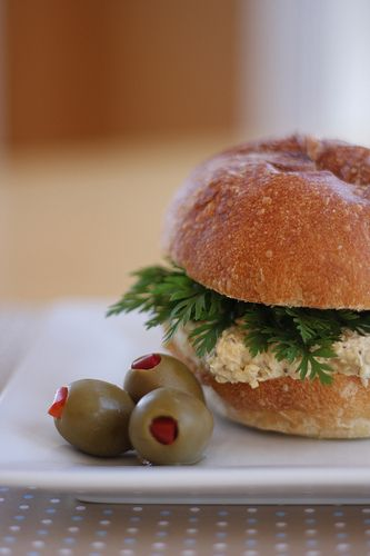 Olives for Dinner | Recipes for the Ethical Vegan: Chickpea Salad Sandwich