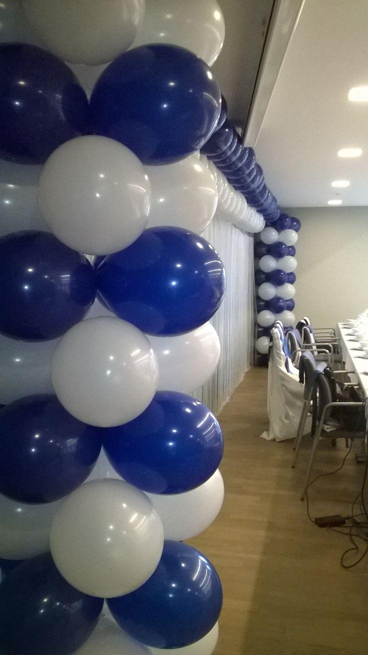 Stage decoration. Square Balloon arc. Dekoracja sceny. Kwadratowa brama balonowa.