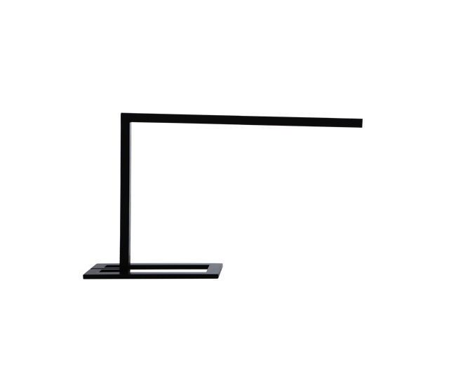 Desk lamp / contemporary / aluminium / grey - DRAAD by Bernard Moïse - CINNA