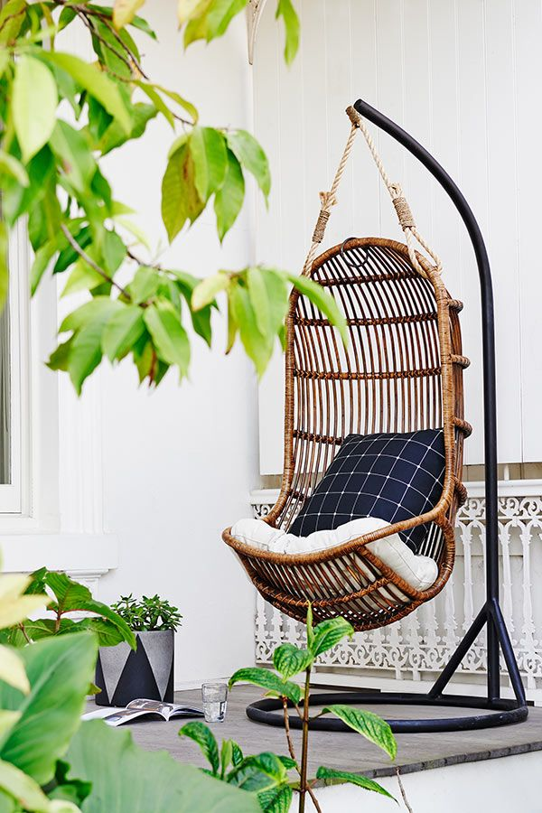 Chairs and Stools -Hanging chair - stand $450