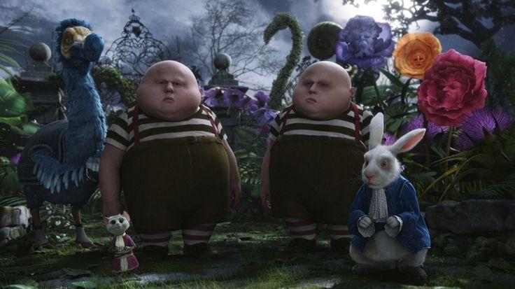 Aquestos son els bessons de Alicia en el país de les meravelles. Anomenats Tweedledum y Tweedledee.