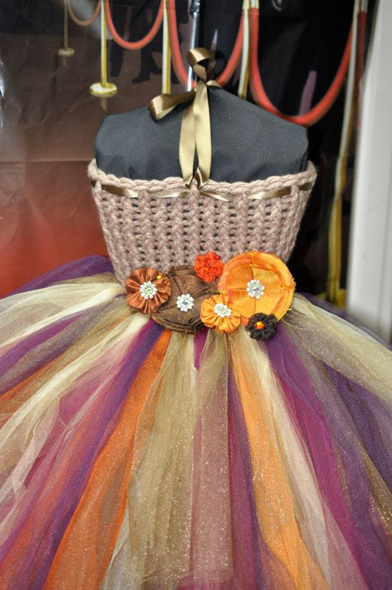 Fall Flower Girl Dress Special Occasion by Bowsbaublesandbeads, $55.00
