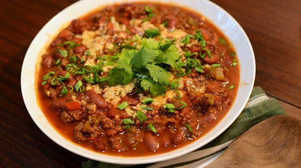 Loaded with delicious ingredients, this beefy Coca-Cola chili recipe is a great dish to serve many.