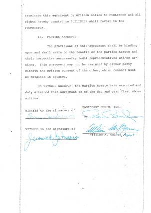 201 best old publishing contracts images on pinterest auction william mad magazine author agreement platinumwayz