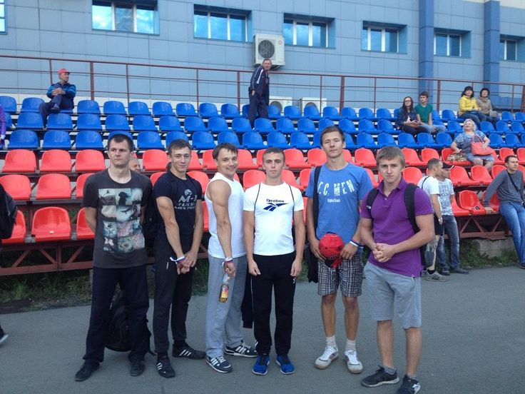 Тренировка на стадионе Смертина,парк спорта