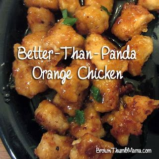 Better Than Panda Homemade Orange Chicken. Oh my, I MUST try this sometime soon and relieve my cravings for asian food! haha :)