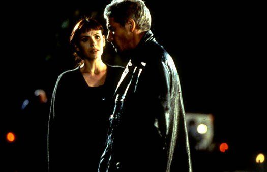 Mathilda May, Richard Gere dans Le Chacal (The Jackal)