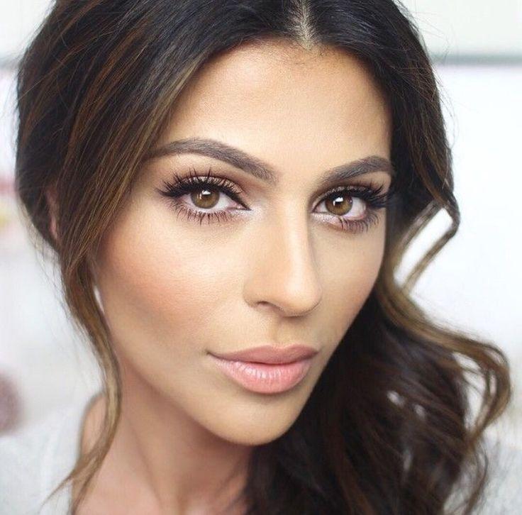 Best 25+ Wedding Makeup Brunette Ideas On Pinterest