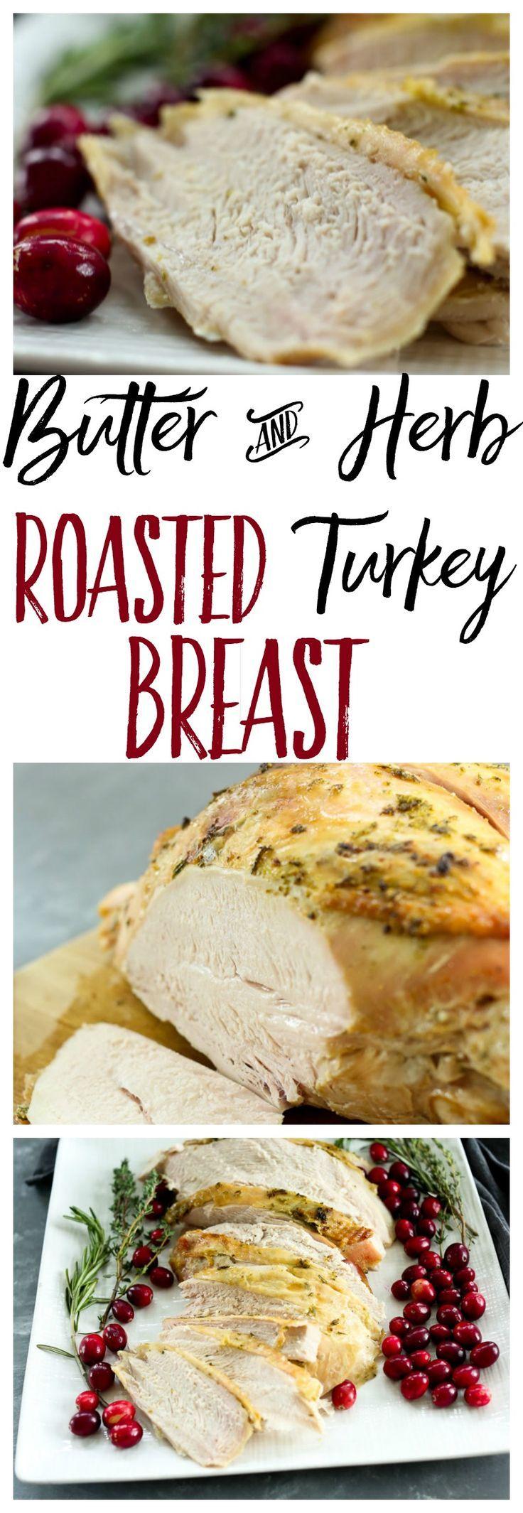 Roasted Turkey Breast recipe. #Christmasrecipes #Thanksgivingrecipes #entertaining #holidayfood #Christmasdinner via @Maryea Flaherty