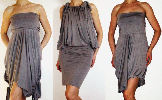 Convertible Wrap Infinity Multi - way dress