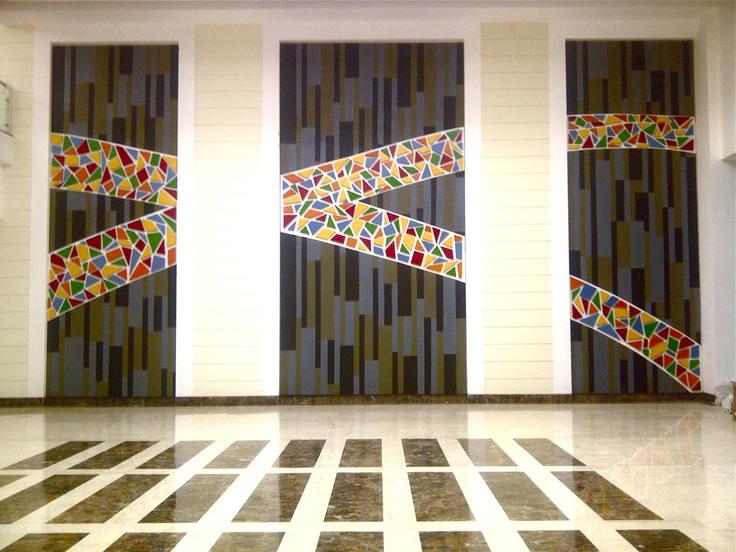 3 Dimensional art installation @Bestech Business Park, Gurgaon