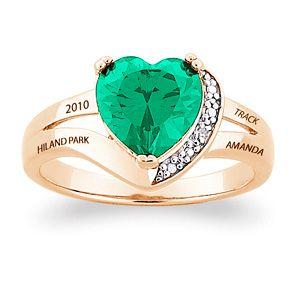 Possible gold award ring