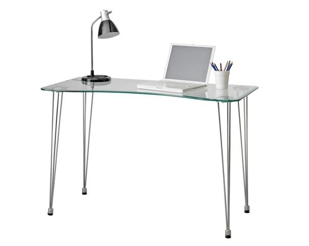 Escritorio vidrio escritorio mesa muebles - Muebles de ordenador ...