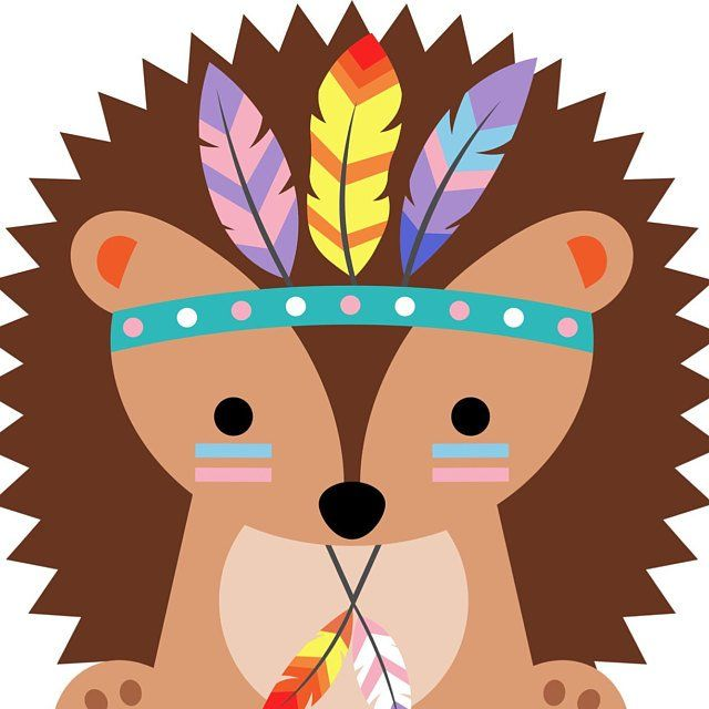 Tribal Animals Clipart Cute Woodland Animals Clip Art Etsy Tribal Animals Animal Clipart Animal Design Product