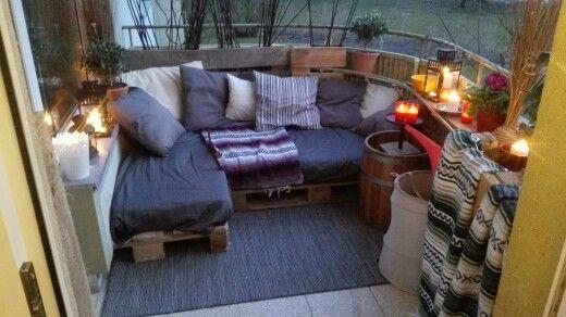 68 besten balkon ideen bilder auf pinterest balkon ideen. Black Bedroom Furniture Sets. Home Design Ideas