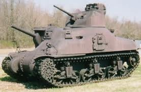 The M3 Lee was an American tanked named after General Robert E. Lee, a confederate general. The M3 Lee went into production in 1940.