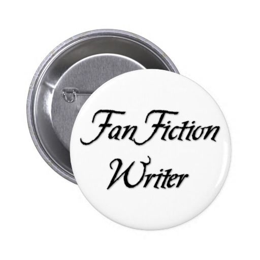 Fan Fiction Writer 6 Cm Round Badge