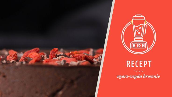 Naspolya egyik legkedveltebb édessége, a nyers brownie
