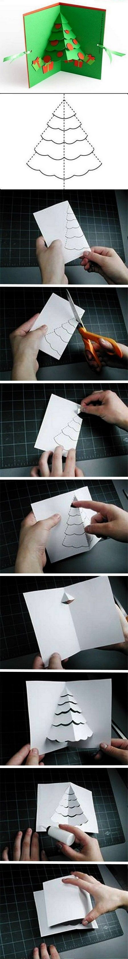 By Robert Sabuda     You can see more detailed instructions at Robert's webpage. WikiHow also has a great tutorial with gifs showing you how to make this pop-up card.   XOXO Frida   Keywords: DIY, ...