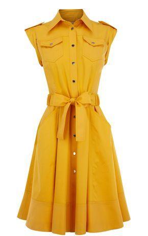 Karen Millen SOFT SAFARI DRESS $289