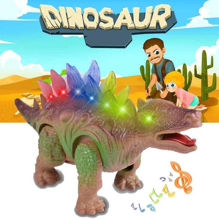 Sound & Light Electric Dinosaurier Modell Kinder Kinder Spaß Elektronisches Spielzeug Geschenk   – Electronic Toys