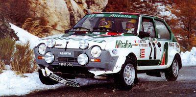 Rally Montecarlo 1979 Bettega-Perissinot Fiat Abarth Ritmo 75 gr. 2