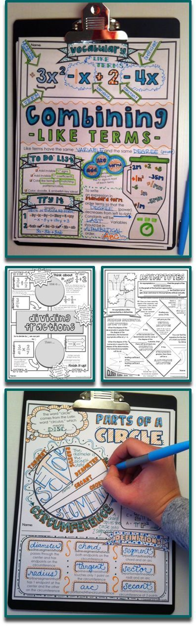 Brain-Based Doodle Notes for Education