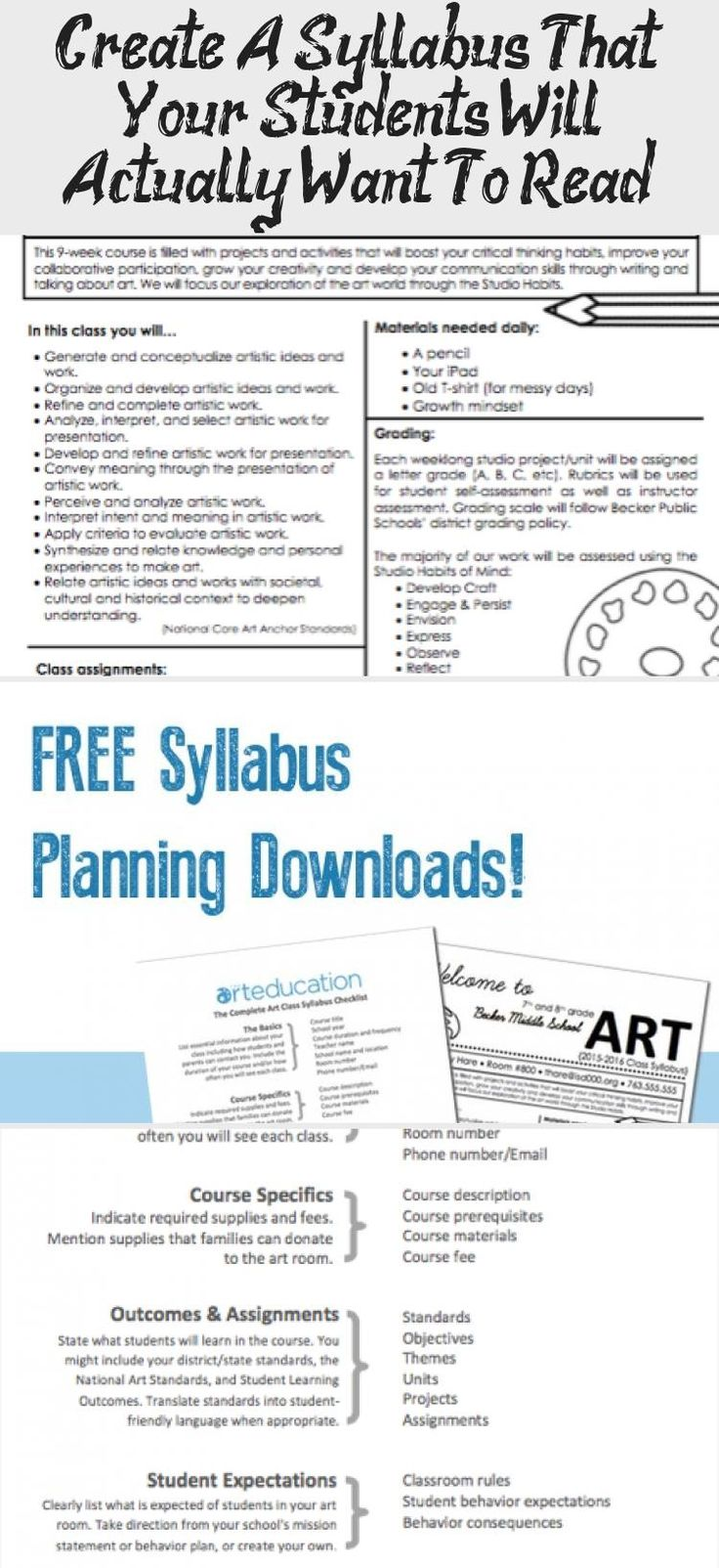 Create A Syllabus That Your Students Will Actually Want To