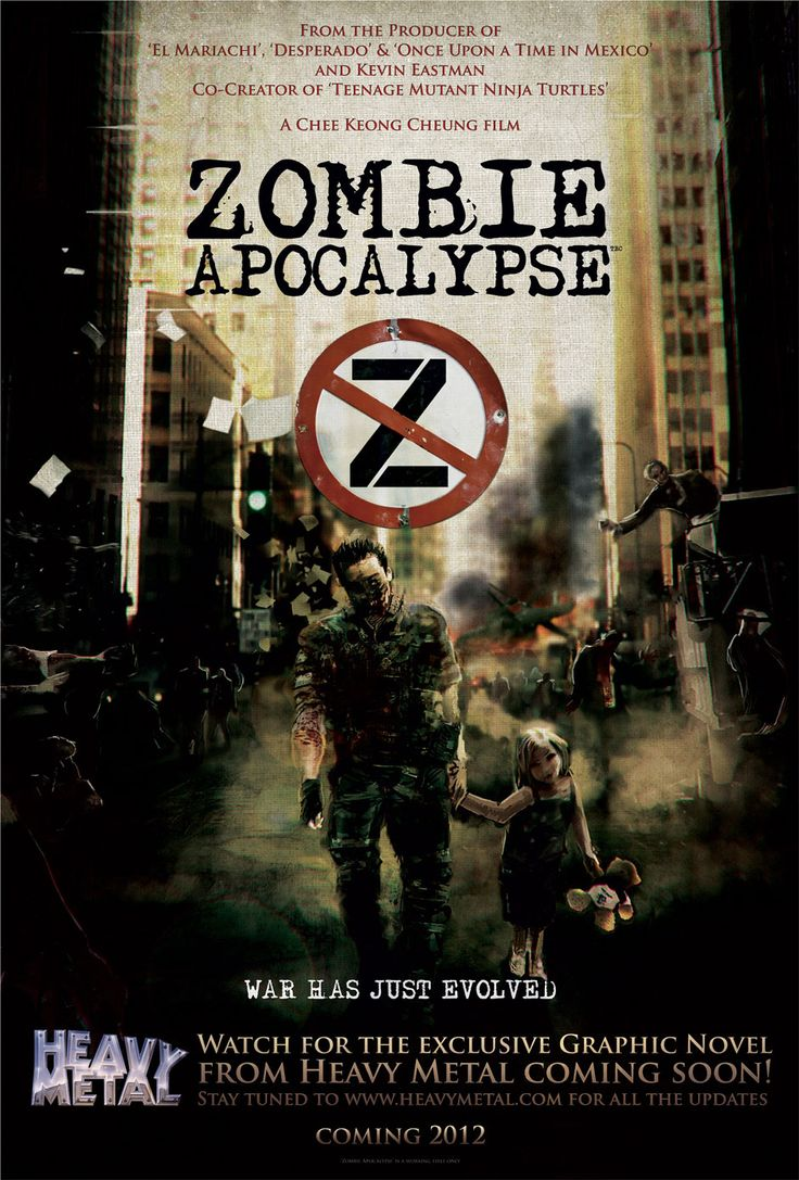 zombie apocalypse movie poster