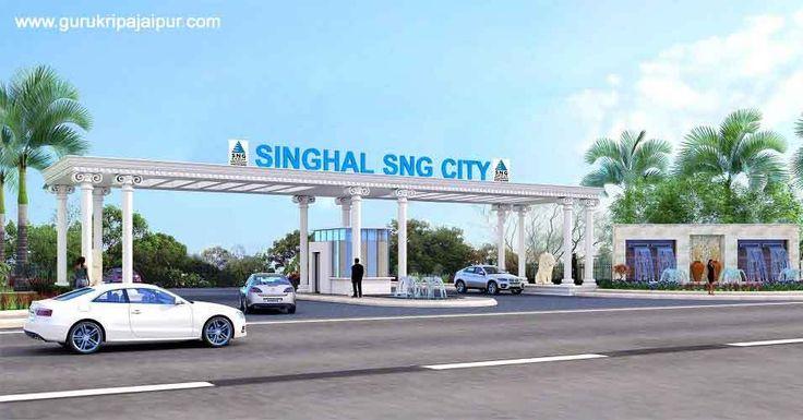 Singhal SNG City Jaipur Jda Approved Plots for Sale Ajmer Road, Jaipur