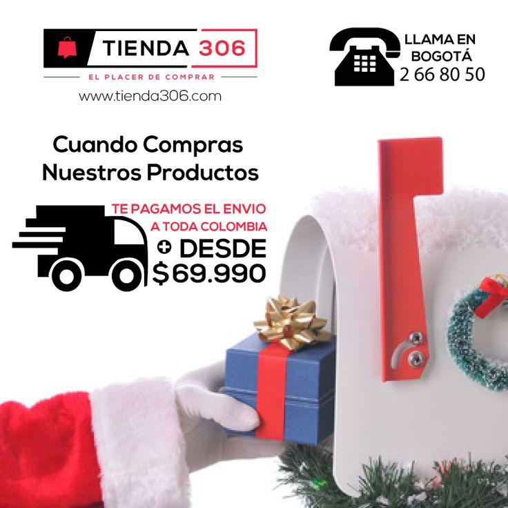 Cuando Compras Nuestros Productos, Te pagamos el envió a toda Colombia 📞 +57 320 574 96 98 Ver Productos:  http://bit.ly/2zrTcW9