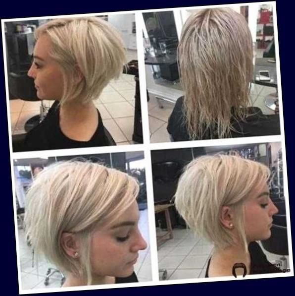 Die Besten Kurzhaarfrisuren Fur Frauen Mit Feinem Haar Frisuren Mittellange Haare 2020 Bob In 2020 Feine Frisuren Kurze Bob Frisuren Feines Haar Haarschnitt Ideen