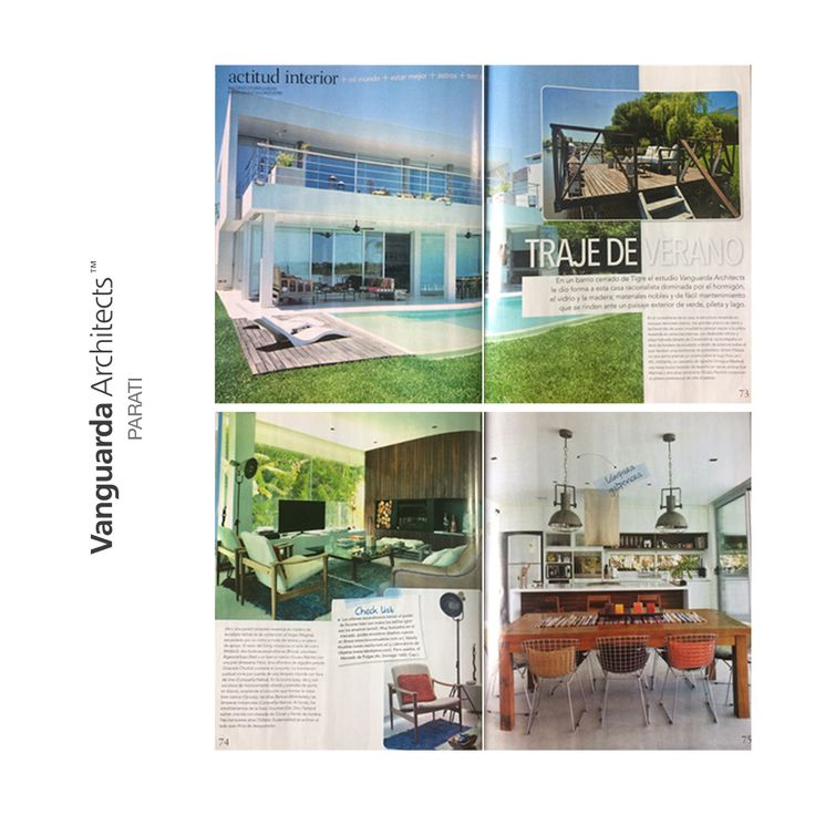 Revista Para Tí - Enero 2017 | #Casa Labrador | #Arquitectura #Diseño #Architecture #ArchitectureLovers #Design
