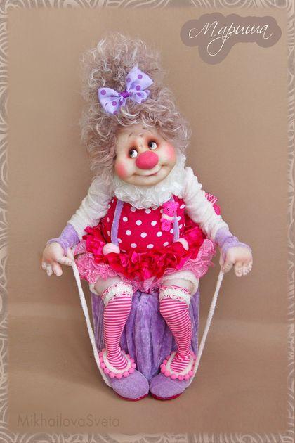 Коллекционные куклы ручной работы. Ярмарка Мастеров - ручная работа Мариша. Handmade.