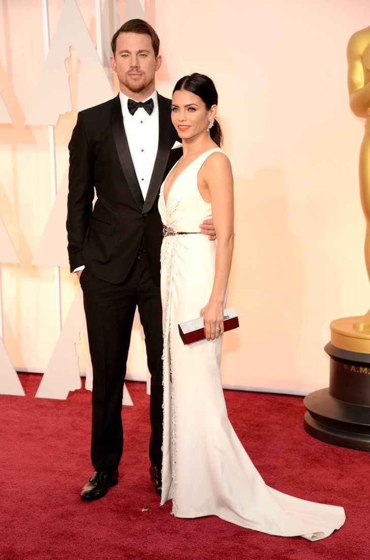 Pin for Later: See Every Star on This Year's Oscars Red Carpet! Channing and Jenna Dewan Tatum