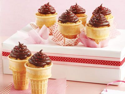 Pretty cupcakes to make with your kids
