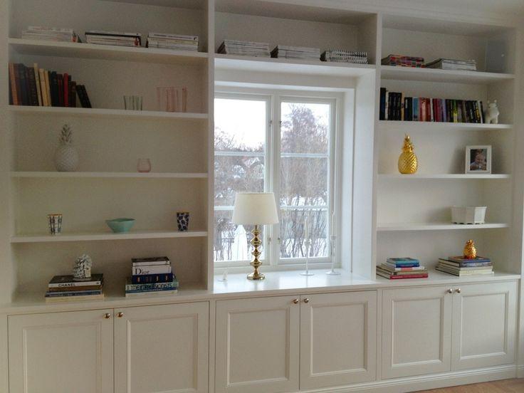 platsbyggd bokhylla sovrum - Sök på Google