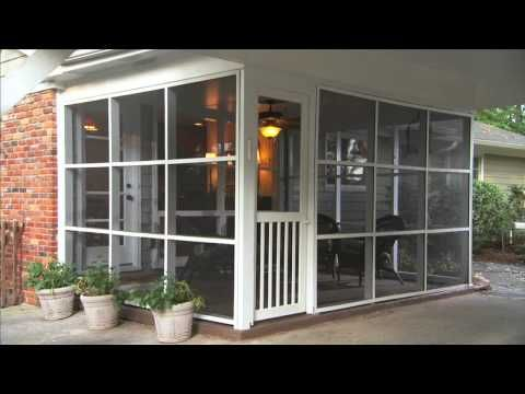 Advantages of Screen Tight Porch Screening ~ How to Use Screen Tight for to Screen in a Porch