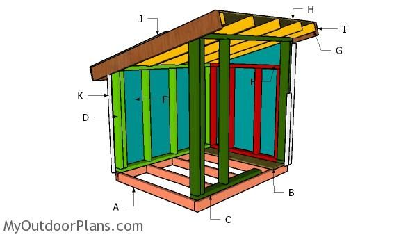 How To Build A Xxl Dog House Myoutdoorplans Free Woodworking Plans And Projects Diy Shed Wooden Playhou In 2020 Dog House Diy Dog House Diy Plans Dog House Plans