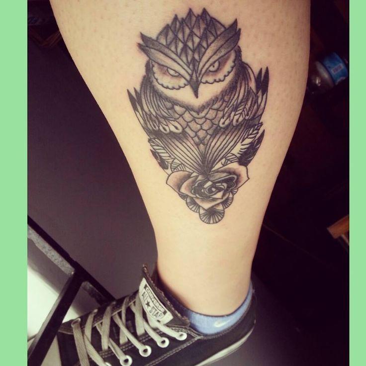 buho tatoo