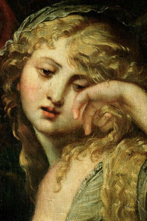 The Deposition,  detail of Mary Magdalene, 1602  Peter Paul Rubens