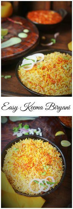 Easy and Delicious Mutton Keema Biryani