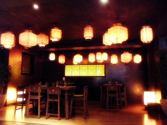 Cho Gao. Asian fusion cuisine. Abu Dhabi, United Arab Emirates.