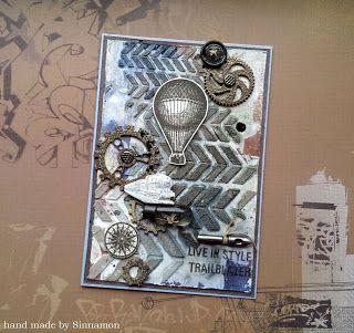 Sinnamon: Творю, что хочу!: Открытки с самодельным фоном