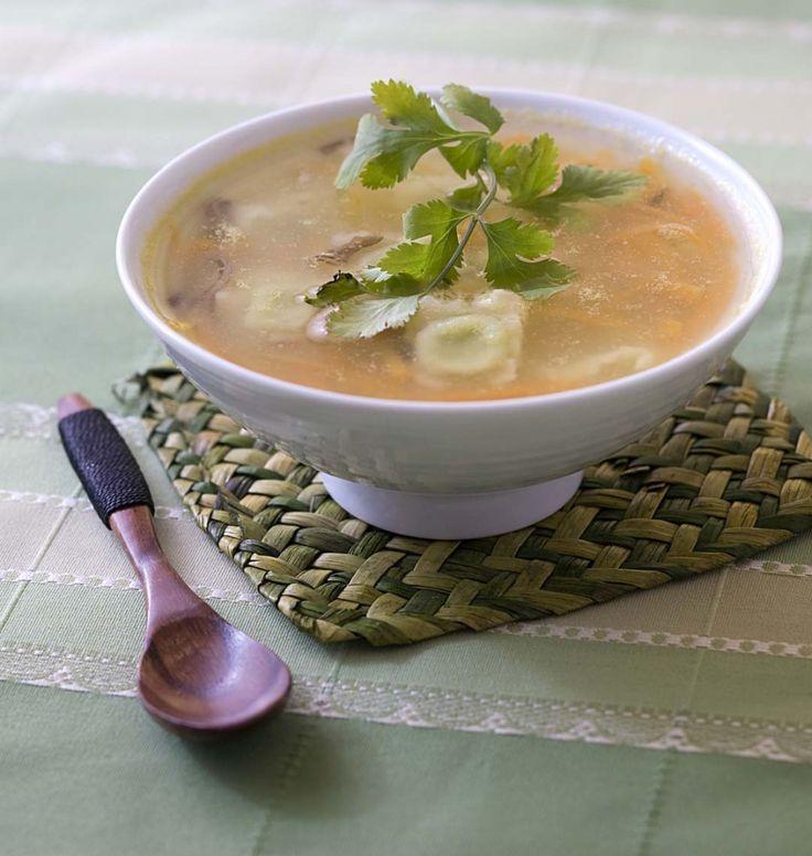 Bouillon aux ravioles - les meilleures recettes de cuisine d'Ôdélices