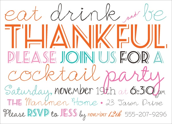 92 best client appreciation event ideas images on pinterest eat drink and be thankful dinner party invites fall dinner party holiday stopboris Image collections