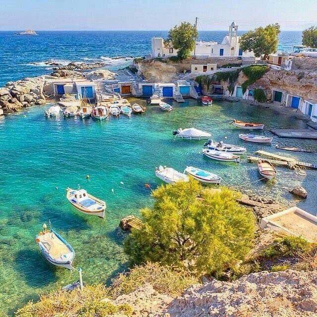 Mandrakia, Milos island, Cyclades, Greece
