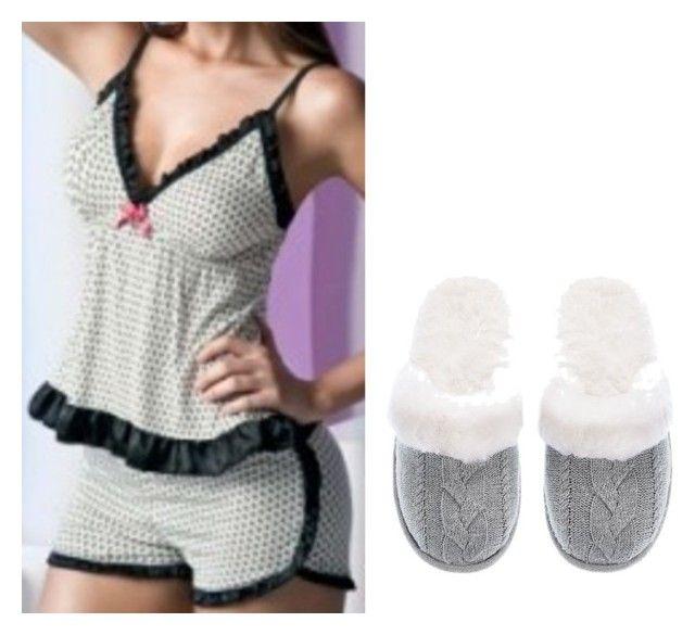 """Mione"" by anacarolinamacedodearaujo-jb ❤ liked on Polyvore featuring Pijama and Victoria's Secret"